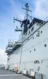 Thailändsk militär slagskepp Arkivfoton
