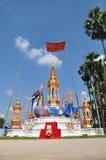 Thailändsk munk Crematory Lamphun Thailand Royaltyfri Foto