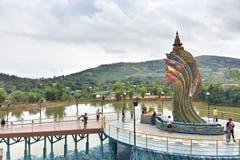 Thailändsk naga Arkivfoton