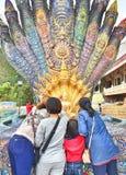 Thailändsk naga Royaltyfria Bilder