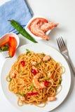 Thailändsk ny mat Fotografering för Bildbyråer