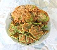 Thailändsk omelett Arkivfoto