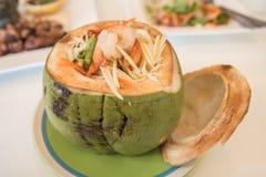 Thailändsk papaya Arkivfoton
