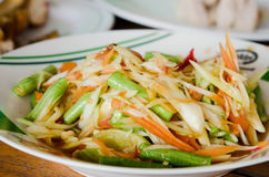 Thailändskt utforma mat royaltyfri bild