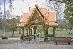 Thailändsk paviljong i Lissabon fotografering för bildbyråer