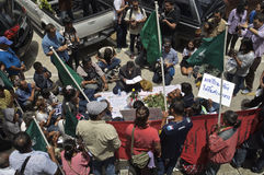Thailändsk politisk kris Royaltyfria Bilder