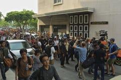 Thailändsk politisk kris Arkivfoto