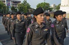 Thailändsk politisk kris Arkivbild