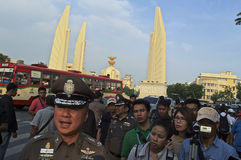 Thailändsk politisk kris Royaltyfri Bild