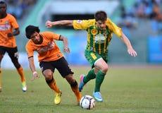 Thailändsk premier league 2013 Arkivfoton