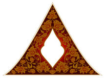 Thailändsk prydnadram Arkivfoto