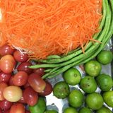 Thailändsk salad& x28; Somtam& x29; Royaltyfri Foto