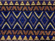 Thailändsk sarongmodell Arkivbild