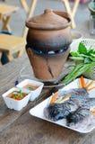 Thailändsk shabu för traditionell stil royaltyfri bild