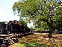 Thailändsk slott arkivfoto