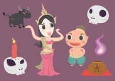 Thailändsk spöke Royaltyfri Foto