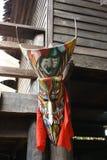 Thailändsk spökemaskering Royaltyfria Bilder