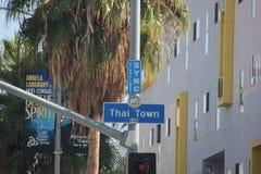 Thailändsk stad Arkivbild