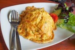 Thailändsk stil för omelett Royaltyfria Foton