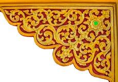 Thailändsk stil på väggen Royaltyfri Fotografi