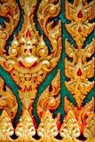 Thailändsk stilbakgrund Arkivbild