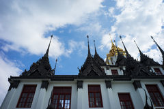 Thailändsk stilslott Royaltyfria Foton