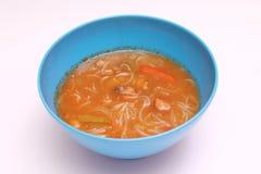 Thailändsk suppe Royaltyfria Foton