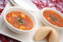 Thailändsk suppe Arkivfoton
