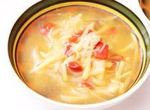 Thailändsk suppe Fotografering för Bildbyråer