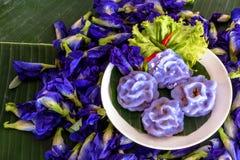 Thailändsk sweetmeat Cheamewg Arkivfoton