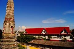 Thailändsk tempel Arkivbilder