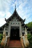 Thailändsk tempel Arkivbild