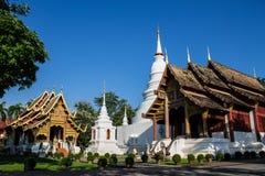 Thailändsk tempel Arkivfoto
