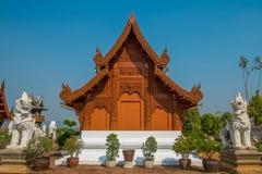 Thailändsk tempel Royaltyfria Bilder