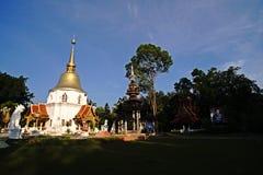 Thailändsk tempel, ChiangMai nordliga Thailand Arkivbilder