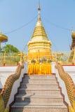 Thailändsk tempel Doi Suthep Arkivfoto