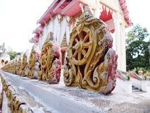 Thailändsk tempel för buddism i Yasothon Royaltyfri Fotografi