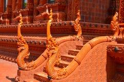 Thailändsk tempel på bangkok Arkivfoto
