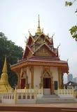 Thailändsk tempel, Penang, Malaysia arkivbild