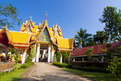 Thailändsk tempel, Thailand Royaltyfri Bild