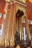 Thailändsk tempel, Thailand Arkivbild