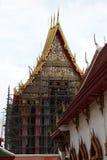 Thailändsk tempel under konstruktion Royaltyfri Bild