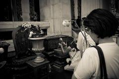 Thailändsk tempelfantast Bangkok Thailand royaltyfri foto