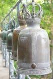 Thailändsk tempelklocka, arkivfoton