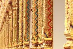 Thailändsk tempelpelare Royaltyfri Bild