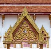 Thailändsk tempelport Royaltyfri Foto