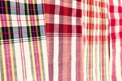 Thailändsk textil Arkivfoton