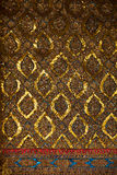 Thailändsk traditionell dekorativ mosaik Arkivbilder