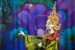 Thailändsk traditionell docka Arkivbild