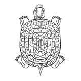 Thailändsk traditionell målning, tatuering Royaltyfria Foton